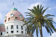 Dome of the Negresco Hotel, Nice Stock Photo