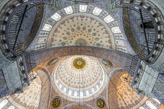 Dome of New Mosque in Fatih, Istanbul Stock Photos