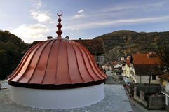 Dome of the new mosque. Krushevo village, Kosovo Stock Images