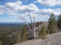 The Dome - Newberry National Volcanic Monument - Central Oregon Royalty Free Stock Photos