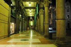 Dome night Milan Stock Photos