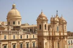 The Dome of Noto. Sicily Stock Photo