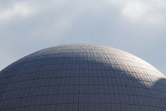 The dome of  nuclear reactor of nuclear power plant Stock Photo