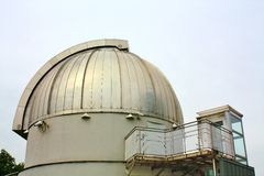 Dome of observatory Stock Photo