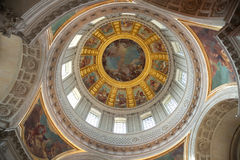Dome Of Les Invalides Stock Photography