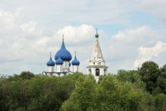 Dome of the old churches Stock Photography