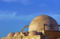 Dome of old Mosque in the Chania Royalty Free Stock Images
