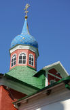 Dome of old orthodox church Stock Photos