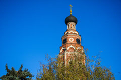 Dome. Of the old Orthodox Church Royalty Free Stock Image