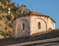 Dome of old Orthodox church in Kotor Royalty Free Stock Image
