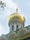 The dome of the Orthodox Cathedral Stock Photos