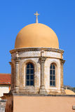 The dome of the Orthodox chapel Royalty Free Stock Photography