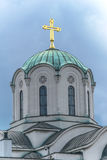 Dome of the Orthodox church Stock Photos