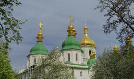 Dome of an orthodox church against a blue sky Royalty Free Stock Photography