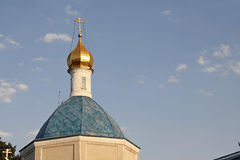 The dome of the Orthodox Church Stock Photography