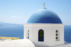 Dome of Orthodox church Stock Image