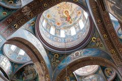 Dome of the Orthodox church Stock Photo