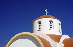 Dome of orthodox church Stock Photo