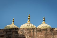 Dome over Mehrangarh fortress in Jodhpur, India Stock Images