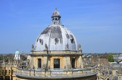 Dome of Oxford Camera Stock Photography
