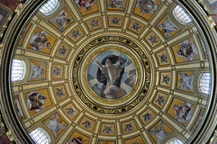 Dome with painting Stock Images