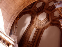 Dome in the Palace of Fine Arts Courtyard in San Francisco Stock Images