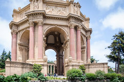 Dome of Palace of Fine Arts Stock Images