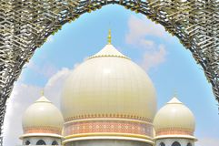 The dome of the palace of justice. In Putrajaya Malaysia Royalty Free Stock Photos