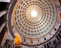 Dome of Panteon, Rome Royalty Free Stock Photography