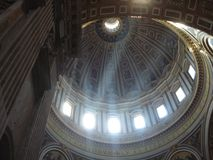 dome of the pantheon stock photography
