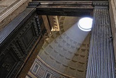 Dome of Pantheon, Piazza della Rotonda, Rome Royalty Free Stock Image