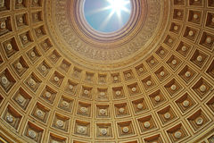 The dome of the Pantheon, Rome Royalty Free Stock Photos