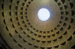Dome of Pantheon, Rome Stock Photography