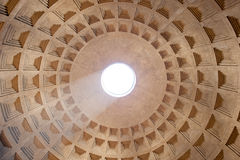 Dome Pantheon in Rome Stock Photography
