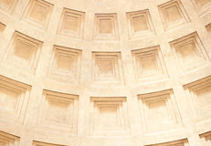 Dome Pantheon in Rome Stock Images