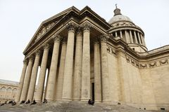 Dome of Paris Pantheon Royalty Free Stock Images