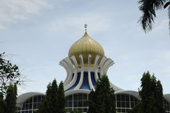 Dome of Penang State Mosque in Penang Stock Image