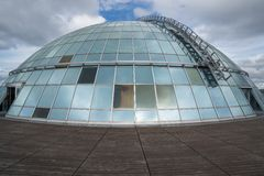 Dome of Perlan Stock Photo