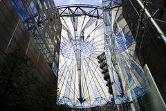 Dome at Potsdamer Platz Royalty Free Stock Image