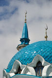 Dome of Qolsharif Mosque in Kazan Kremlin Royalty Free Stock Photo