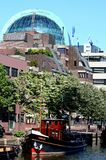 Dome of rabobank building Leeuwarden. Netherlands, Friesland, Leeuwarden,juni 2016: dome of the rabobank building Stock Photo