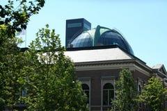 Dome of rabobank building Leeuwarden. Netherlands, Friesland, Leeuwarden,juni 2016: domo of the rabobank building Royalty Free Stock Photo