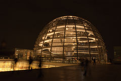 Dome of Reichstag Royalty Free Stock Images