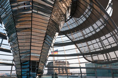 Dome of the Reichstag Royalty Free Stock Images