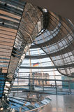 Dome of the Reichstag Stock Photography