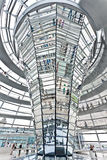 Dome Reichstag  berlin germany Royalty Free Stock Images