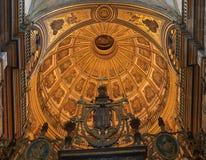 Dome of a Renaissance Church in Úbeda Stock Photos