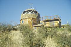 Dome residence in Santa Monica Mountains, CA Royalty Free Stock Photos