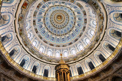 The dome of the resurrection Cathedral in new Jerusalem monaster Royalty Free Stock Images