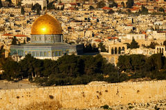 Dome of the rock. Jerusalem royalty free stock photography